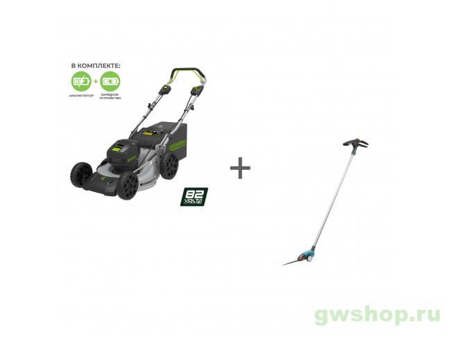 GC82LM46SPK5, 12100 2502507UB, 12100-20.000.00 в фирменном магазине GreenWorks