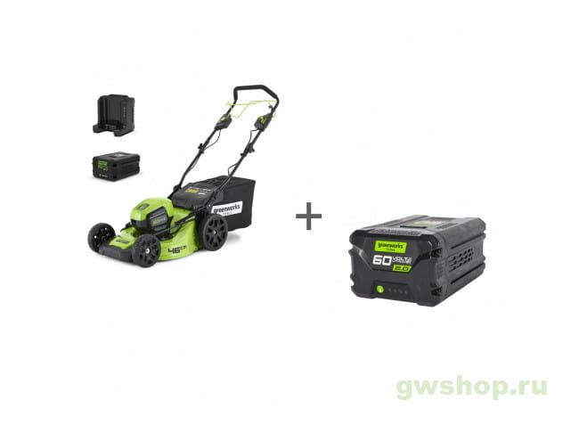 GD60LM46SPK4, G60B2 2502907UB, 2918307 в фирменном магазине GreenWorks