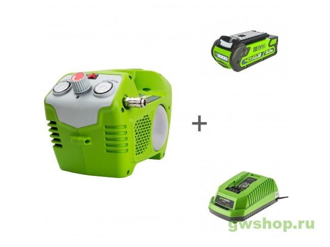 G40AC, G40B3, G40C 4100802, 2925707, 2904607 в фирменном магазине GreenWorks
