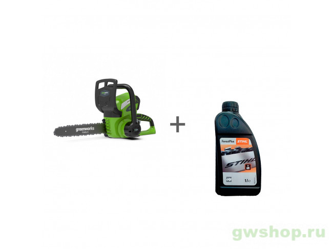 G40CS30, ForestPlus, 1 л 20117, 2004007LM, 07815166001 в фирменном магазине GreenWorks