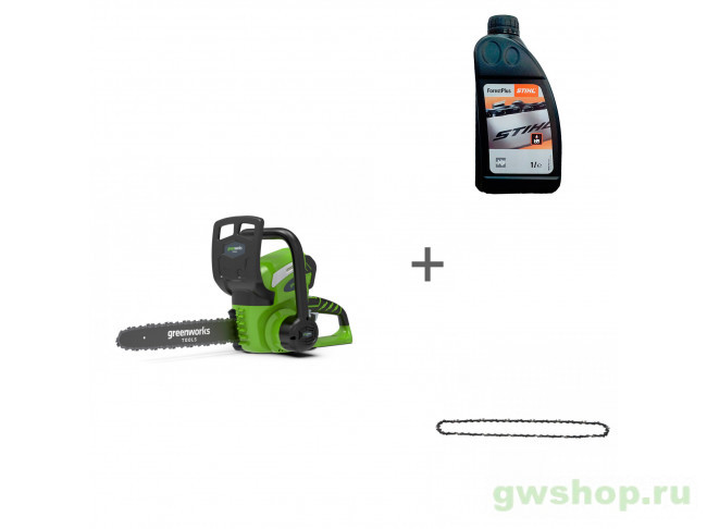 G40CS30K6, ForestPlus, 1 л, 29527 20117UF, 07815166001, 29527 в фирменном магазине GreenWorks