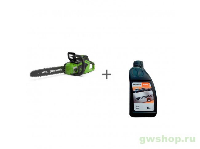 GD40CS18 с АКБ 2АЧ и ЗУ, ForestPlus, 1 л 2005807UA, 07815166001 в фирменном магазине GreenWorks