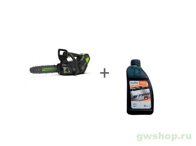 GD40TCS, ForestPlus, 1 л 2003807, 07815166001 в фирменном магазине GreenWorks