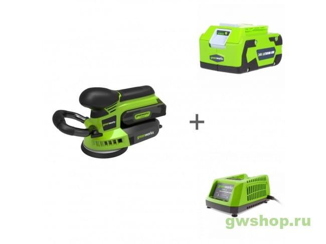 G24ROS, G24B4, G24C 3100107, 2902807, 2903607 в фирменном магазине GreenWorks