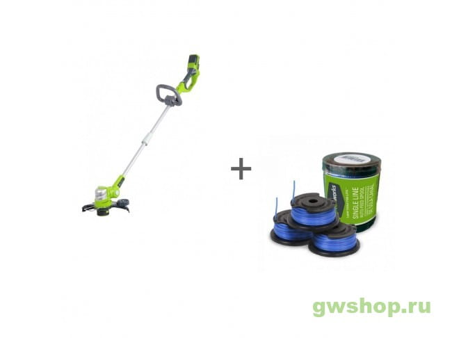 G24ST30M, 29177 2100007, 29177 в фирменном магазине GreenWorks