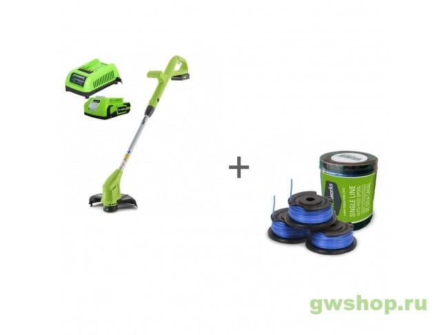 G24LT30K2, 29177 2101207UA, 29177 в фирменном магазине GreenWorks