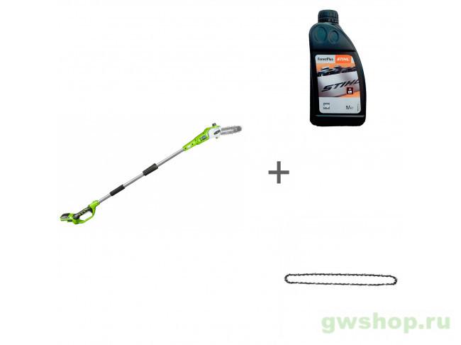 G24PS20K2, ForestPlus, 1 л, 29507 2000107UA, 07815166001, 29507, 32901320 в фирменном магазине GreenWorks