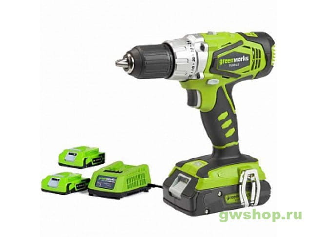 G24CDK2X 3801107VC в фирменном магазине GreenWorks