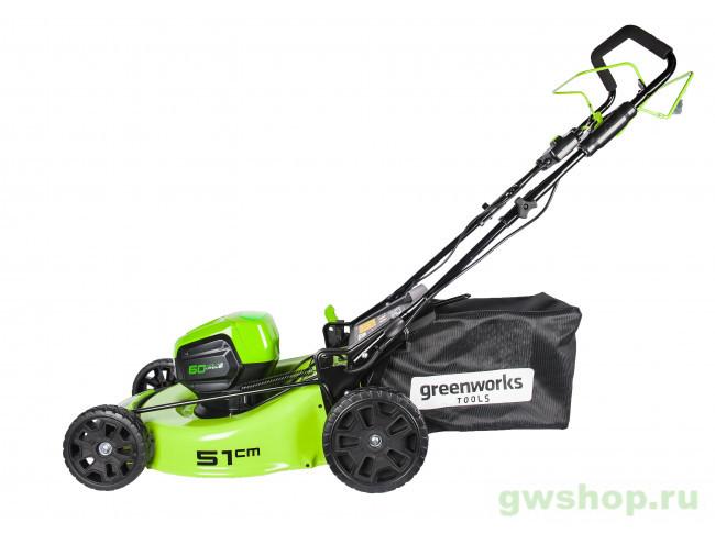 GD60LM51SP UB 2505607UB в фирменном магазине GreenWorks
