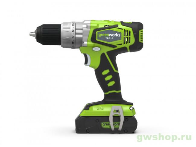 G24CD UA 3801107UA в фирменном магазине GreenWorks