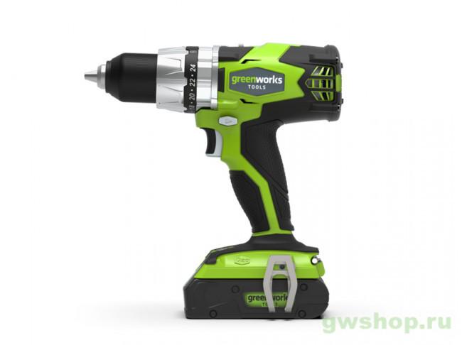 GD24DD 3701607,3700607 в фирменном магазине GreenWorks