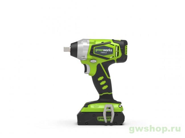 G24IW 3801207, 3800107 в фирменном магазине GreenWorks