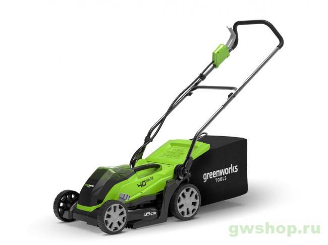 G40LM35 NEW 2501907 в фирменном магазине GreenWorks