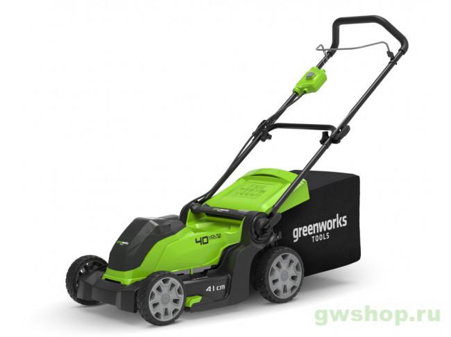 G40LM41K3 2504707UE в фирменном магазине GreenWorks