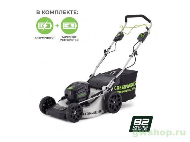 GC82LM51K5 2502007UB в фирменном магазине GreenWorks