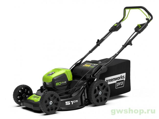 GD80LM51SPK4 2502107UB в фирменном магазине GreenWorks