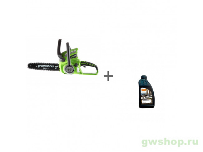 G40CS30K2, Timber Plus 1 л 20117UA, 70285160000 в фирменном магазине GreenWorks