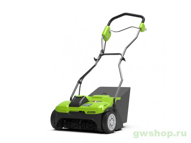 GD40SC36 с АКБ 4АЧ и ЗУ 2511507UB в фирменном магазине GreenWorks