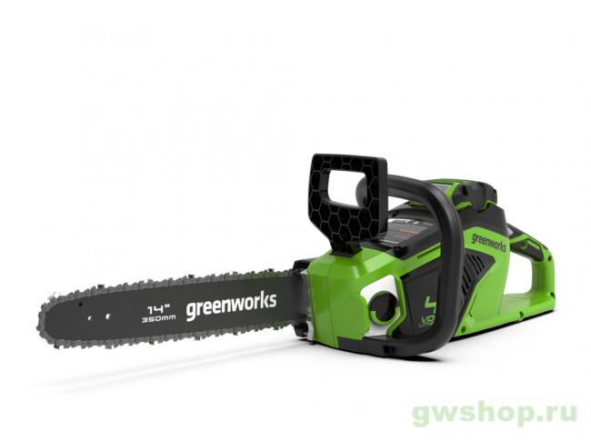GD40CS15 с АКБ 6АЧ и ЗУ 2005707UF в фирменном магазине GreenWorks