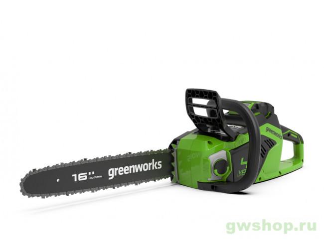 GD40CS18 с АКБ 6АЧ и ЗУ 2005807UF в фирменном магазине GreenWorks