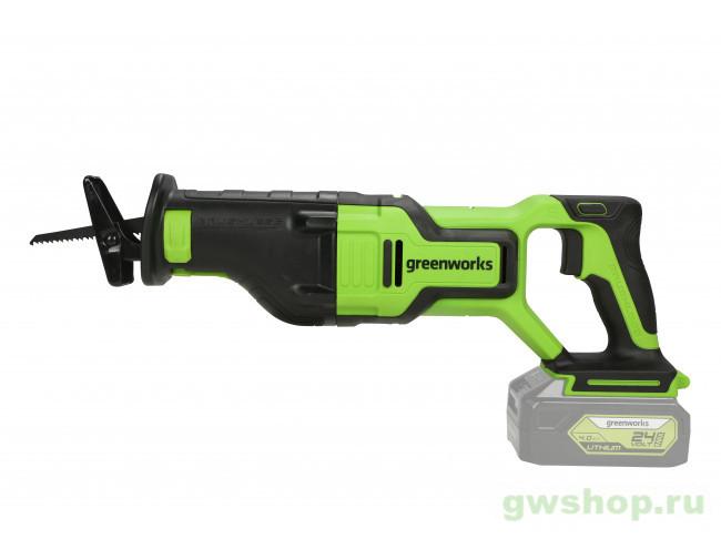 GD24RS 1200407 в фирменном магазине GreenWorks