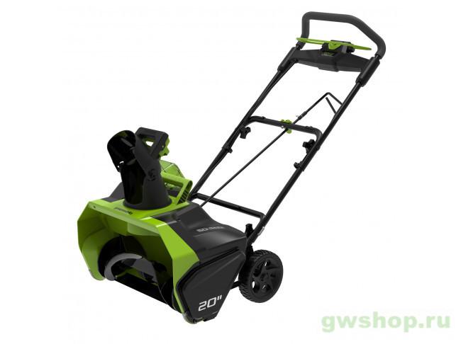 GD60ST 60V (51 см) бесщёточный аккумуляторный 2602407 в фирменном магазине GreenWorks