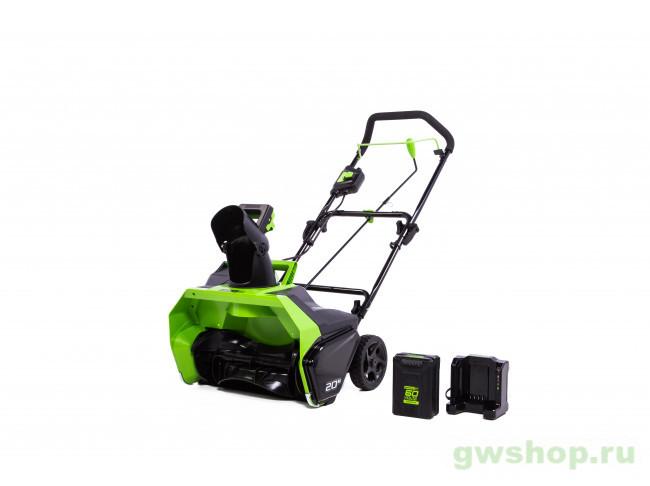 GD60ST 60V (51 см) бесщёточный аккумуляторный с АКБ 4 А/ч и ЗУ 2602407UB в фирменном магазине GreenWorks