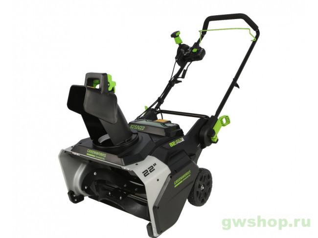 GD82 82V (56 см) бесщёточный аккумуляторный 2602507 в фирменном магазине GreenWorks