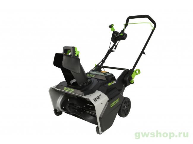 GD82 82V бесщёточный аккумуляторный с 5 А/ч АКБ и ЗУ 2602507UB в фирменном магазине GreenWorks
