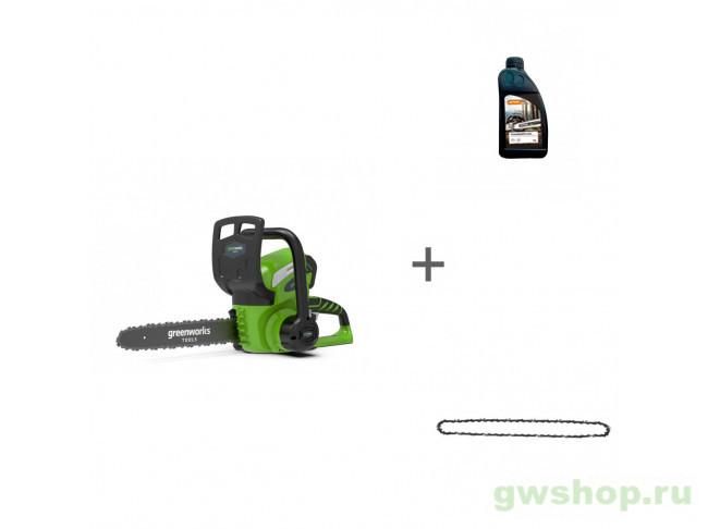 G40CS30K6, Timber Plus 1 л, 29527 20117UF, 70285160000, 29527 в фирменном магазине GreenWorks