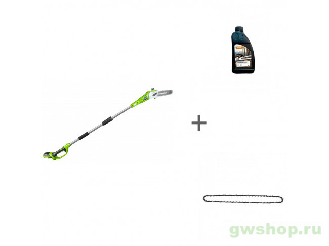 G24PS20K2, Timber Plus, 1 л, 29507 2000107UA, 70285160000, 29507, 32901320 в фирменном магазине GreenWorks