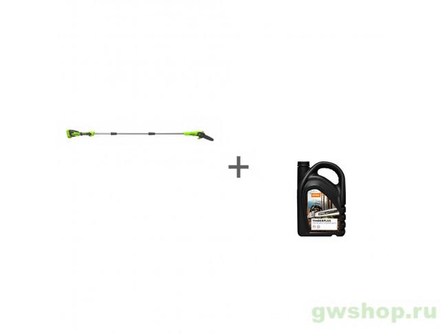 G40PSF, Timber Plus, 1 л 1401107, 70285160000 в фирменном магазине GreenWorks
