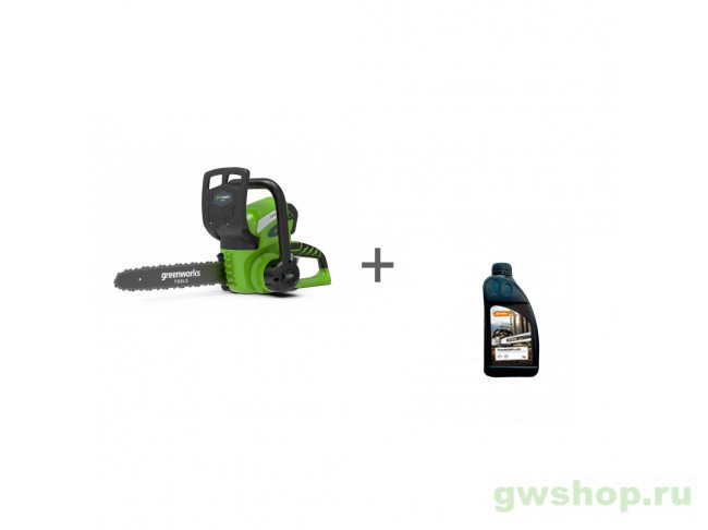 G40CS30, Timber Plus 1 л 20117, 2004007LM, 70285160000 в фирменном магазине GreenWorks