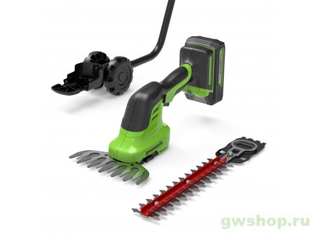 G24SHT (без АКБ и ЗУ) 1600607 в фирменном магазине GreenWorks