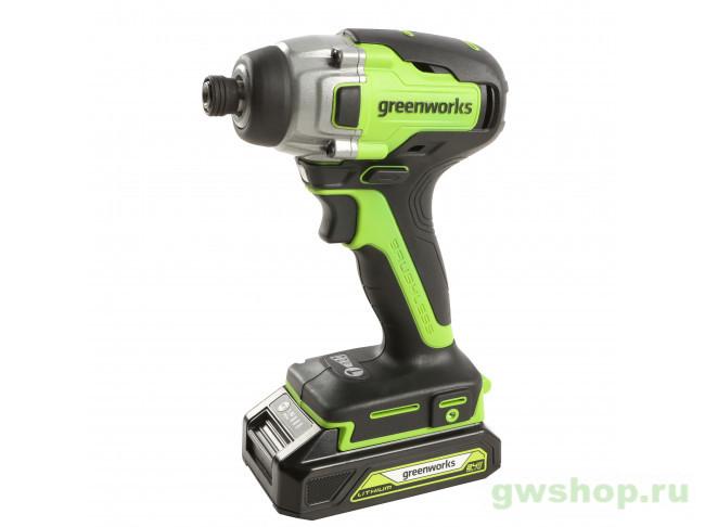 GD24ID3 (без АКБ и ЗУ) 3802807 в фирменном магазине GreenWorks
