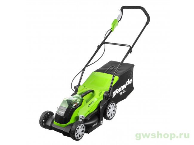 G40LM35K2 (c 1хАКБ 2 А.ч и ЗУ) 2501907UA в фирменном магазине GreenWorks
