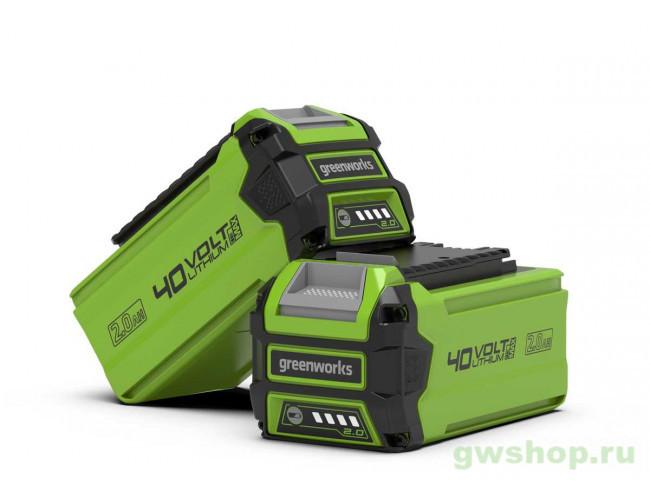 G40B2 29717, 2926907 в фирменном магазине GreenWorks