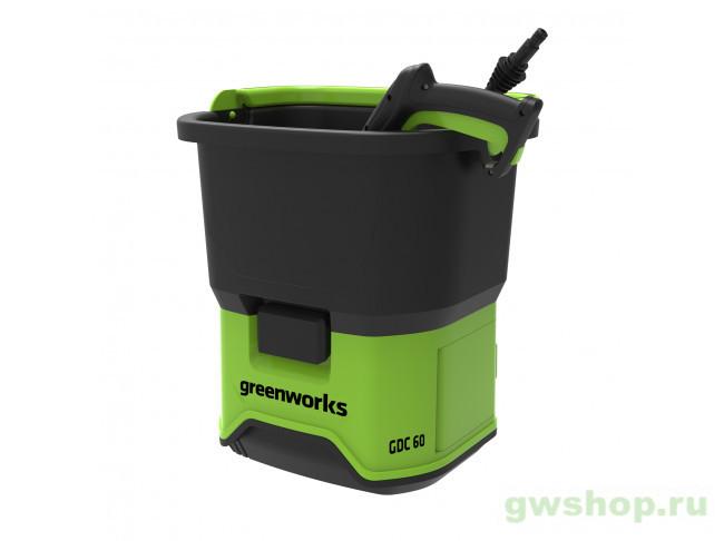 GDC60 GMAX 60V 5104607 в фирменном магазине GreenWorks