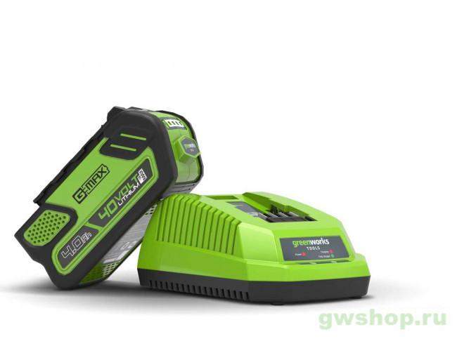 G40C 2910907, 2932507 в фирменном магазине GreenWorks