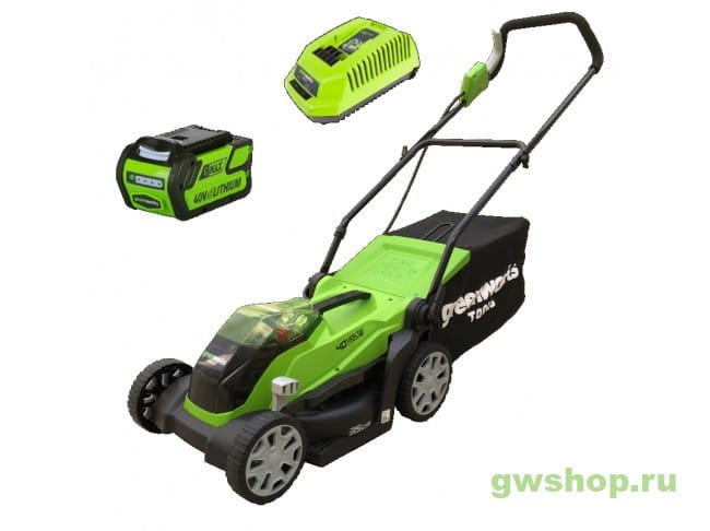 G40LM35K4 2501907UB в фирменном магазине GreenWorks