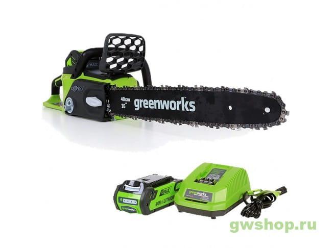 GD40CS40K2 20077UA, 7815166001 в фирменном магазине GreenWorks