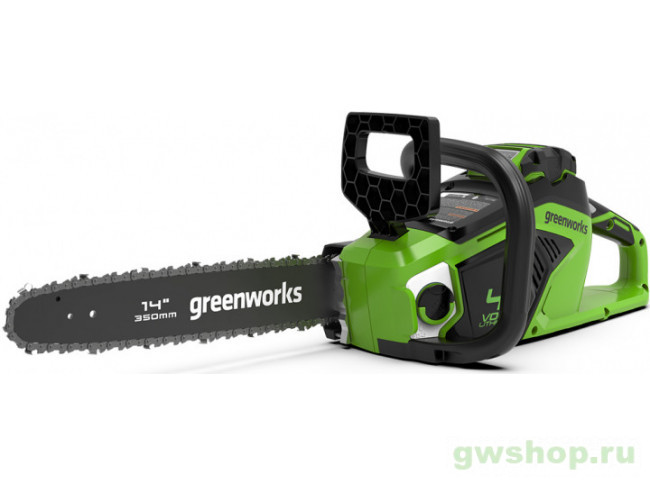 GD40CS18 с АКБ 2АЧ и ЗУ 2005807UA в фирменном магазине GreenWorks