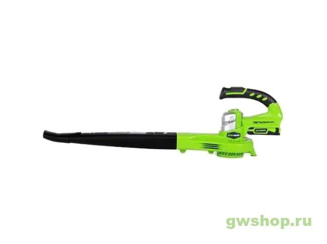 G24BL 2400007 в фирменном магазине GreenWorks