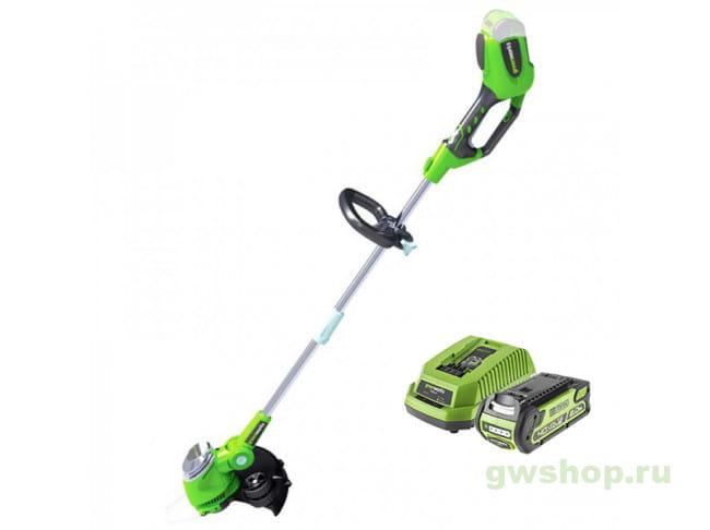 GD40LT30K2 21107VA в фирменном магазине GreenWorks